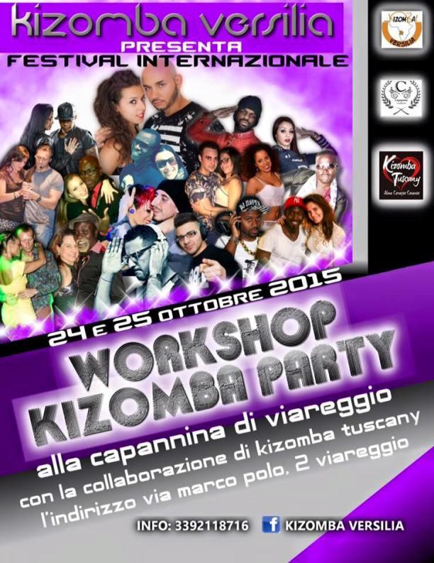 Festival Internazionale Kizomba Party Capannina Viareggio ottobre 2015